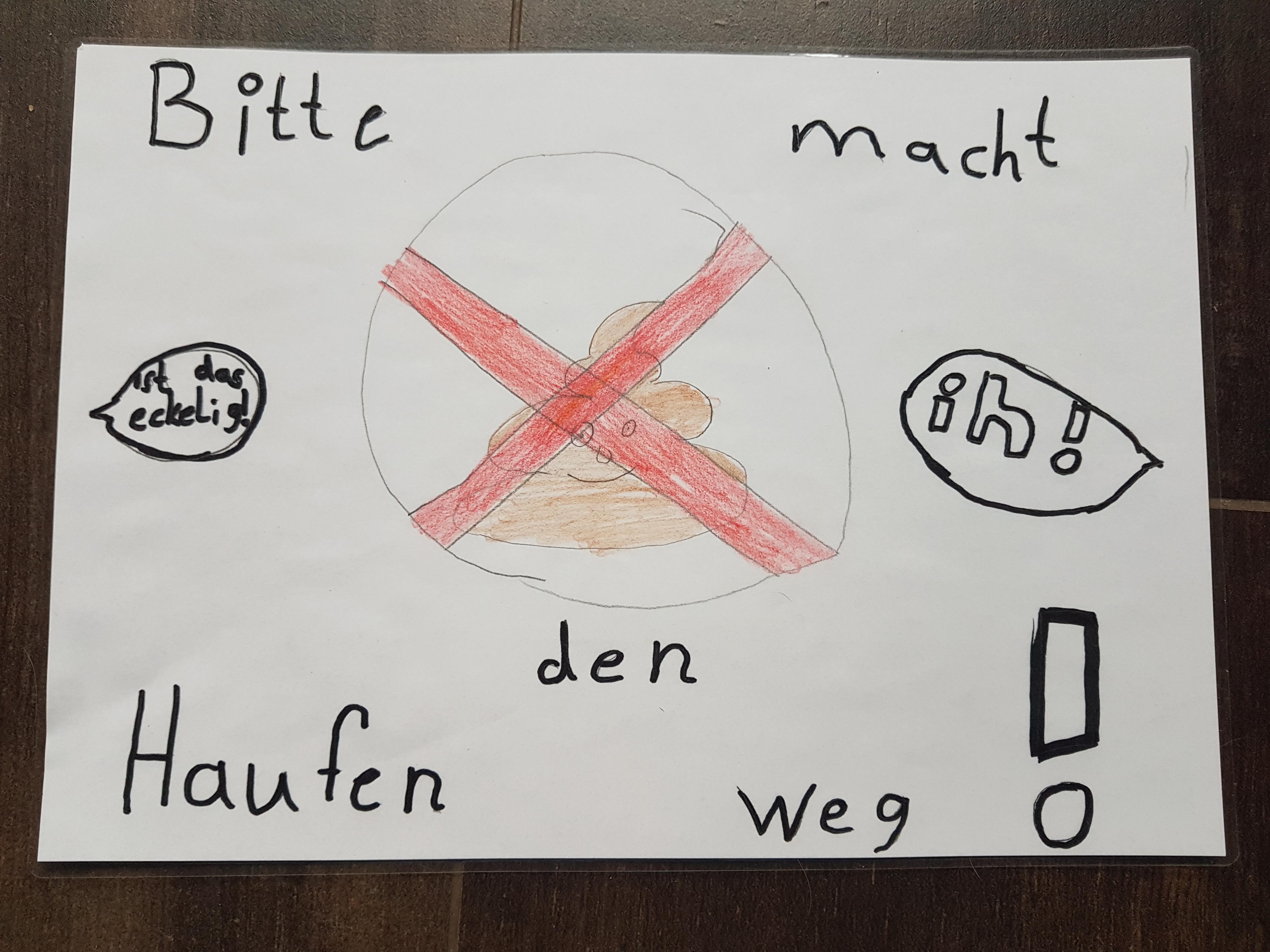 Plakate der Kinder 4